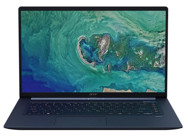 Анонс Acer Swift 5: ультратонкие и очень легкие ноутбуки по цене от 999 евро
