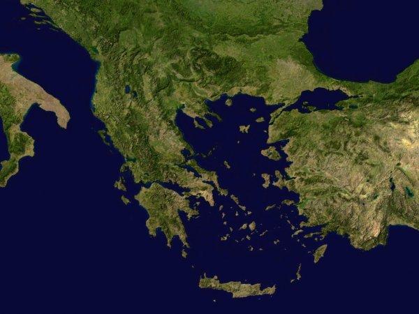 Таинственный объект у берегов Греции на картах Google озадачил пользователей Сети